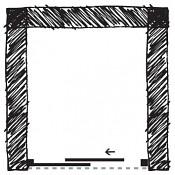 Čelní sprchová zástěna HOPA Maya 122 - 130 cm