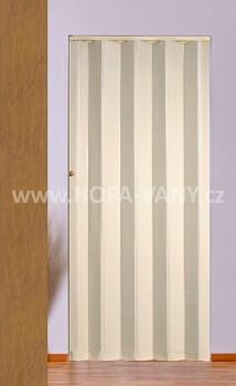 HOPA KP 83 x 200 cm - sv. hnědá