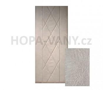 HOPA Standard 90 x 200 cm - šedá extra