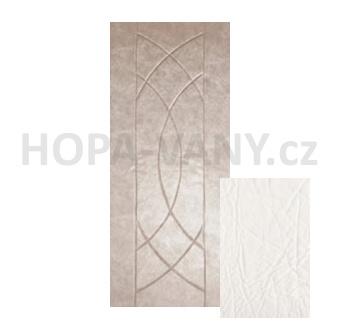 HOPA Euro 80 x 200 cm - bílá extra
