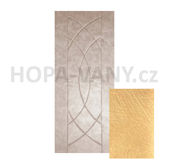 HOPA Euro 80 x 200 cm - béžová